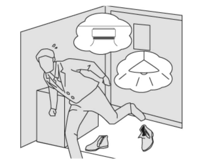 照明・エアコン、戸締りのチェック、出かける前からヘトヘト…
